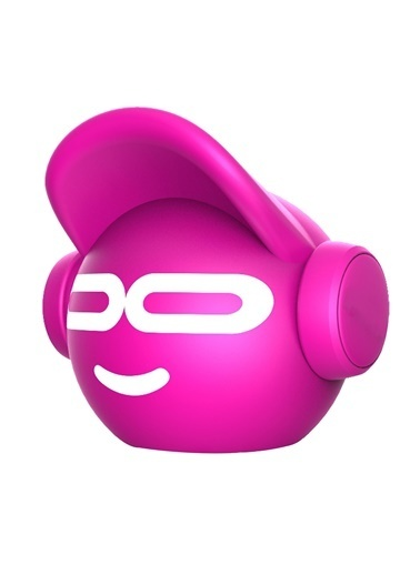 iDance Beat Dude Mini Pembe Bluetooth Hoparlör Pembe